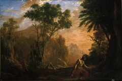 Landscape with Saint Onuphrius
