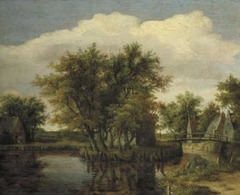 Landscape with water and trees