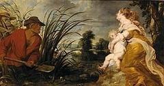 Latona und die lykischen Bauern und Rubens-Werkstatt