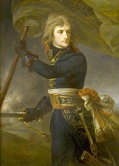 Le général Bonaparte sur le pont d'Arcole, 17 novembre 1796