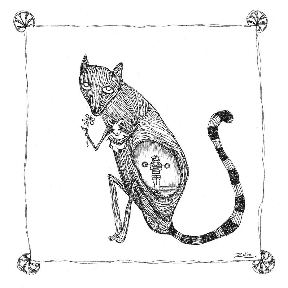Lemur & Circus Strong Man!