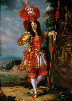 Leopold I as Acis in the play La Galatea""""