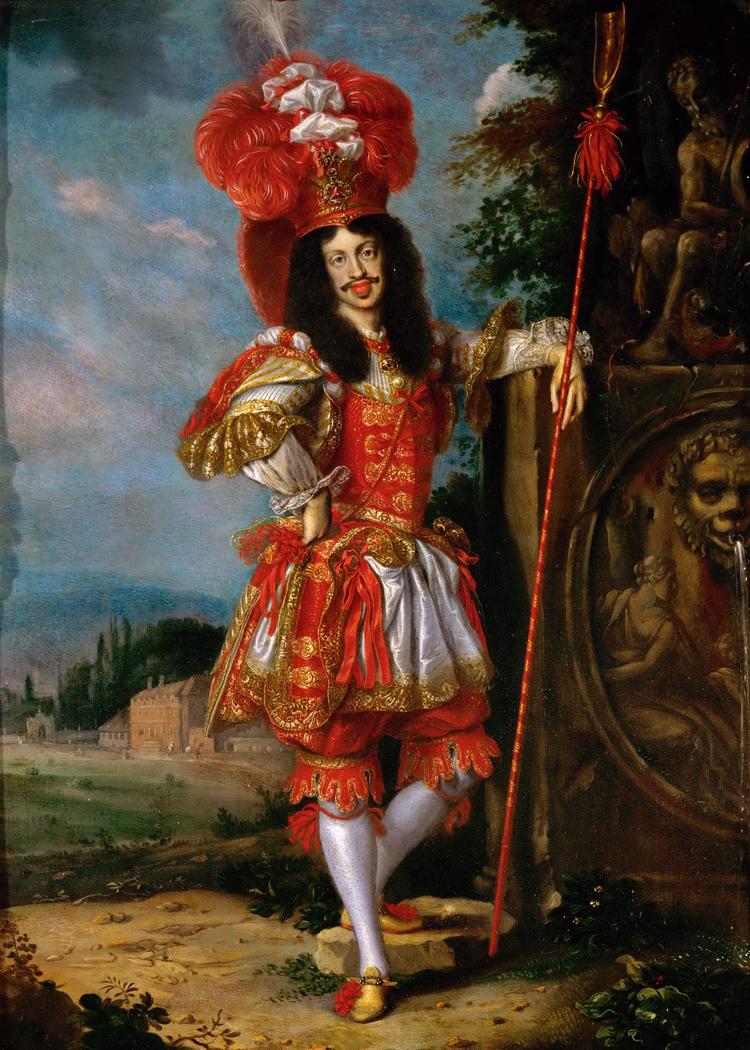"Leopold I as Acis in the play La Galatea"""""