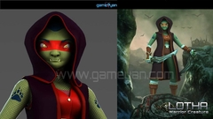 Lotha – Warrior Character Animation Model By GameYan Post Production Animation Studio