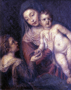 Madonna and Child with Saint Catherine