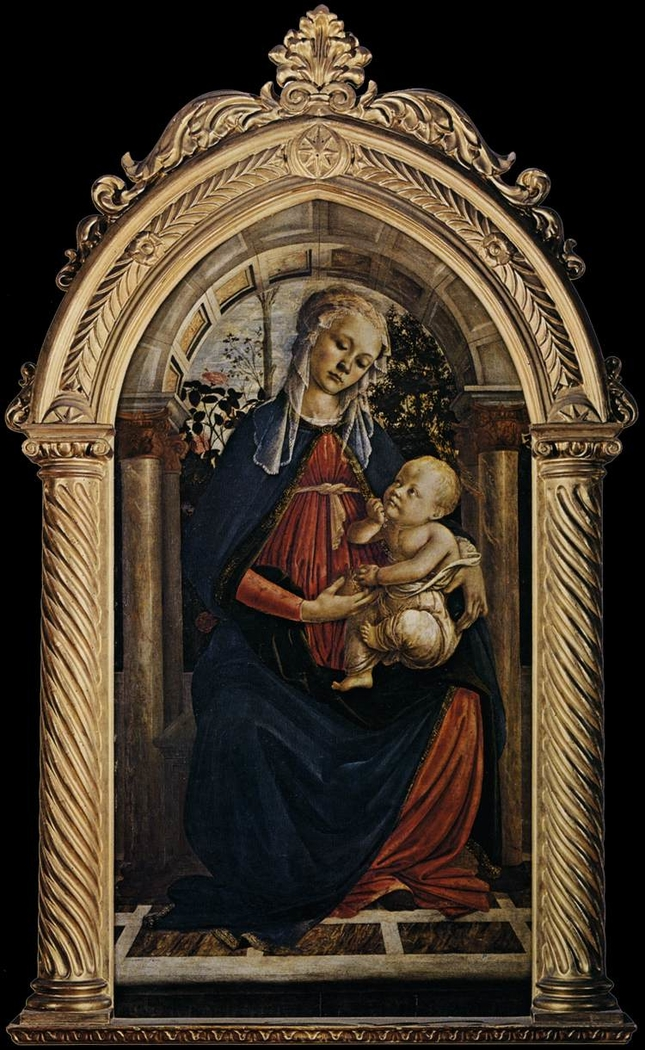 Madonna of the Rose Garden