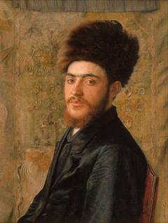 Man With Fur Hat