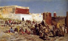 Market in Rabat, Morocco