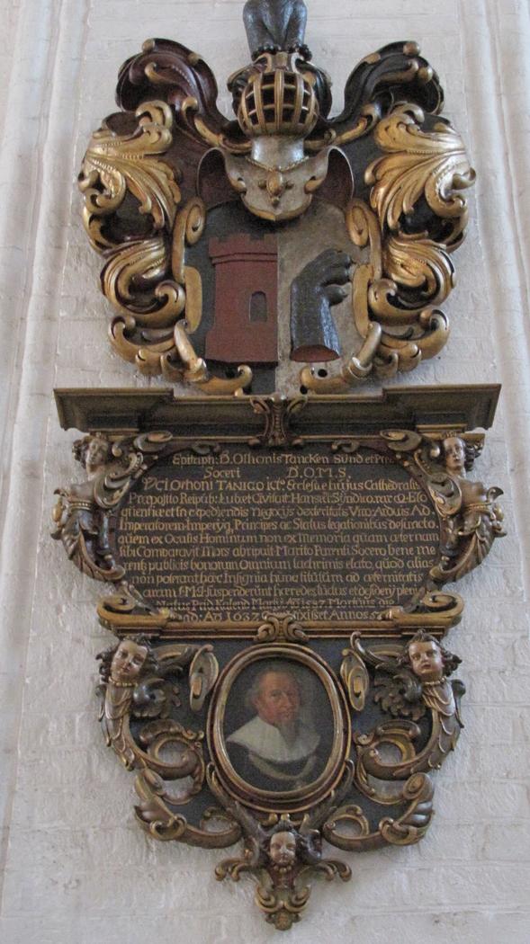Memorial for Otto Tank (1587-1637)