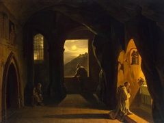 Monks in a Cave