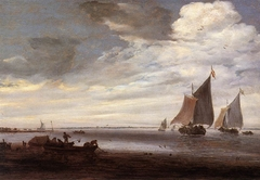 Mouth of a River with Ships