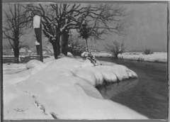 Mühlgraben im Winter