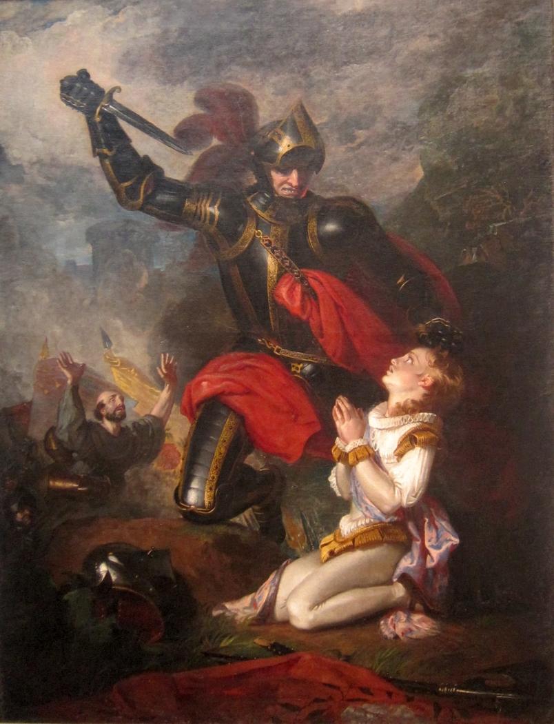 Murder of Rutland by Lord Clifford