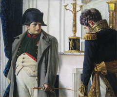 Napoleon and general Lauriston