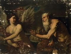 Neptune and Сoronis