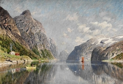 Norwegian Fjord Landscape