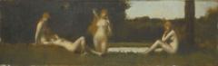 Nymphes à la sortie du bain