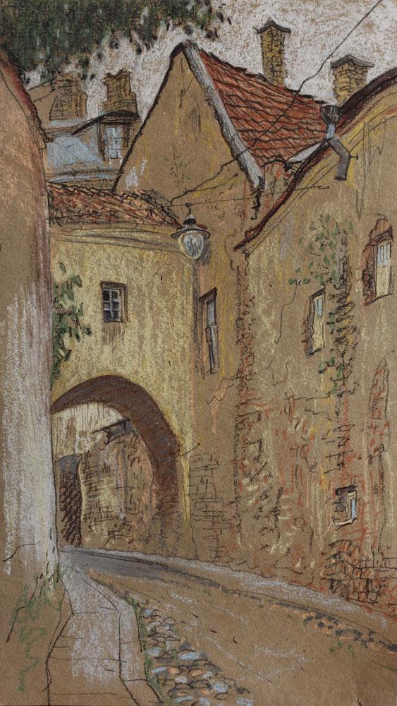 Old Vilnius.