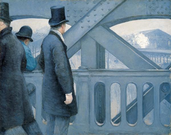 On the Pont de l'Europe
