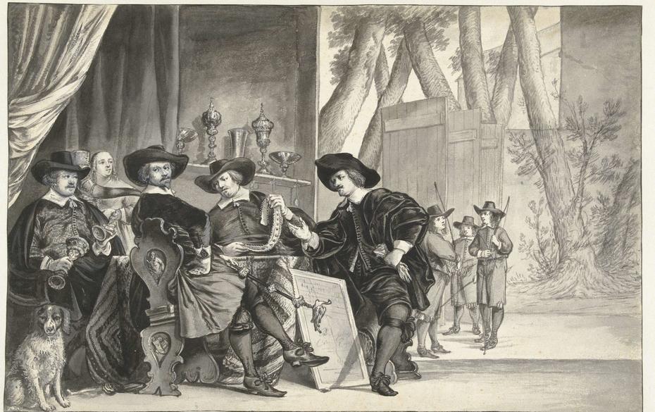 Overlieden van de St. Sebastiaans- of Handboogdoelen te Amsterdam