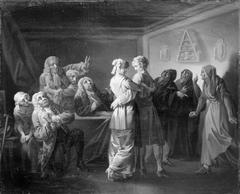 Pernilles korte Frøkenstand, III akt, 7. scene