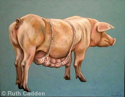 Pig in a Bra