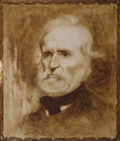 Portrait d'Auguste Blanqui (1805-1881), homme politique