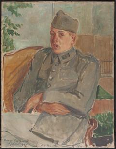 Portrait de Francis Poulenc