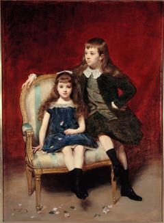 Portrait de Marguerite (1883-1973) et Robert (1880-1956) de Broglie