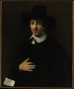 Portrait of a Man (Self-Portrait?)