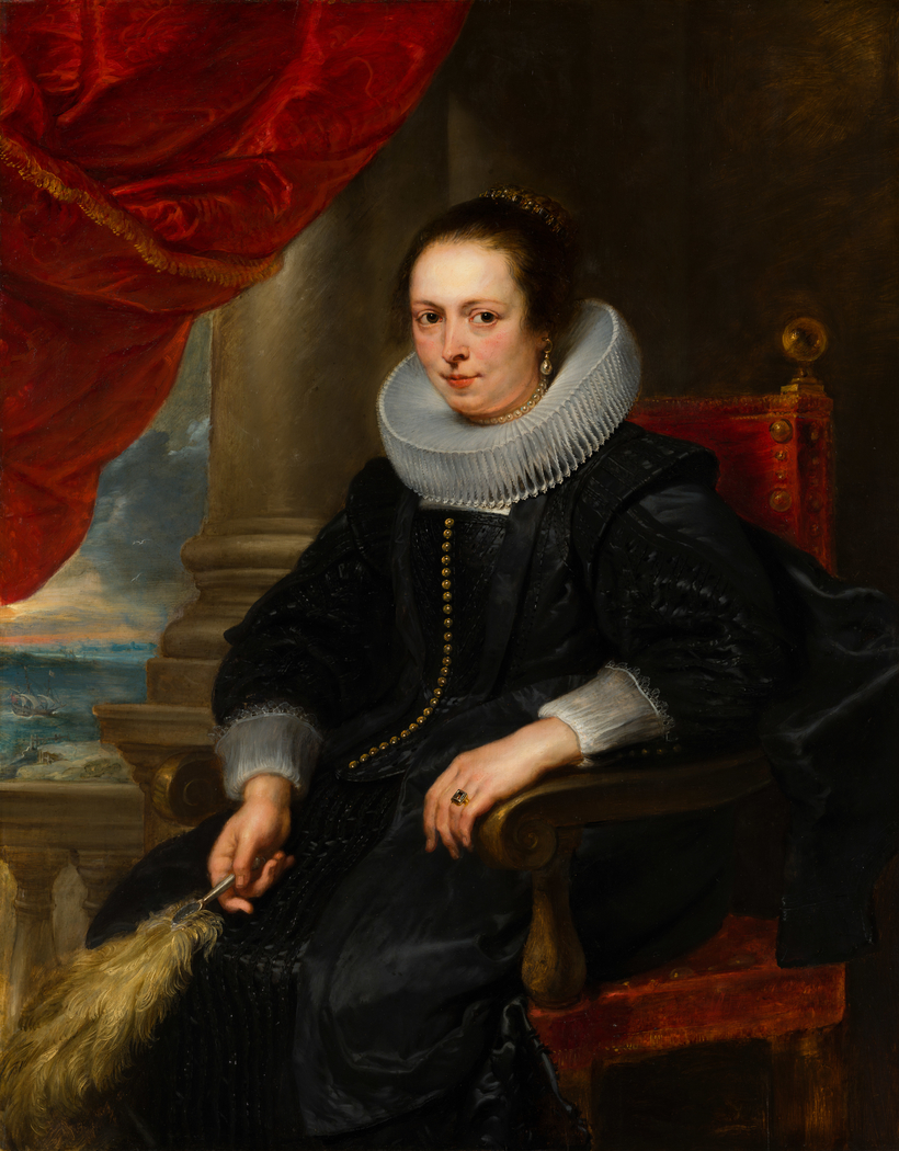Portrait of a Woman, possibly Clara Fourment (1593-1643)