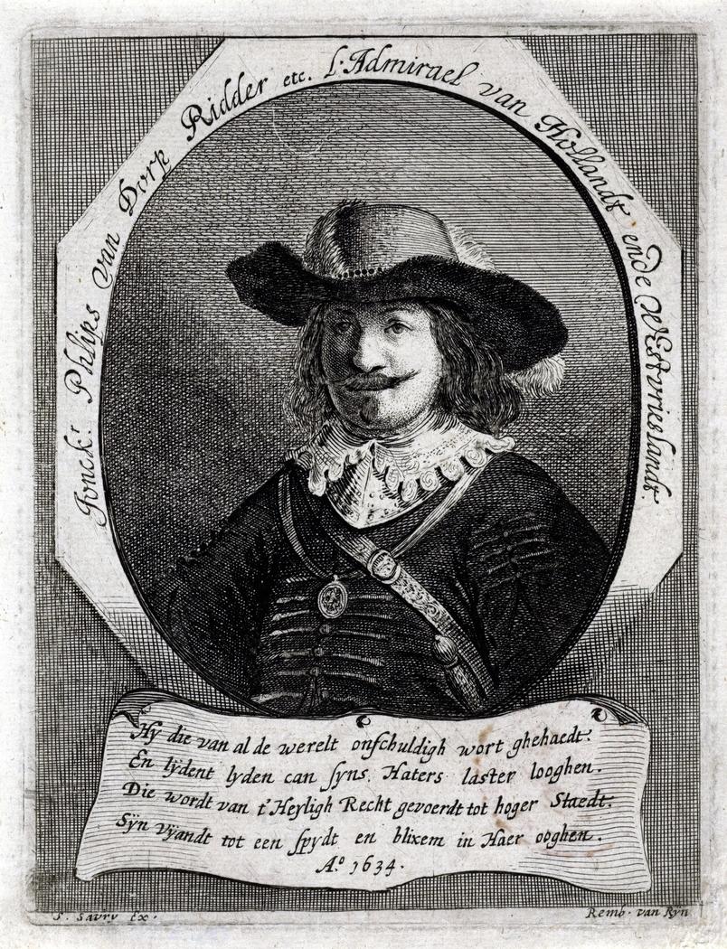 Portrait of Admiral Philips van Dorp (1587-1652)