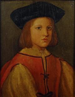 Portrait of an Adolescent Boy
