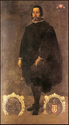 Portrait of Andrés Conde de Ribera
