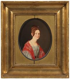 Portrait of Ane Elisabeth (Elise) Gurlitt, né Saxild (1817-39)