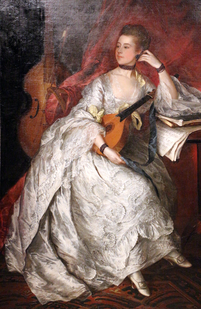 Portrait of Ann Ford (later Mrs.Philip Thicknesse)