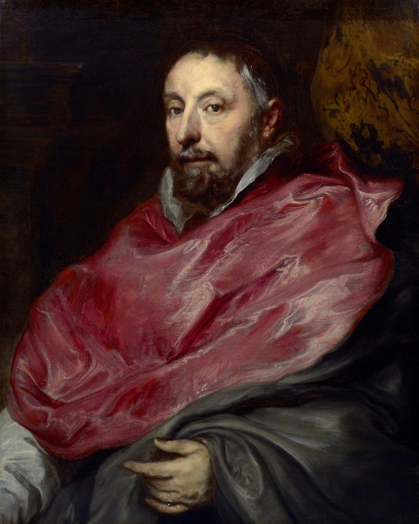 Portrait of Antoine Triest, Bishop of Ghent (1576–1655)