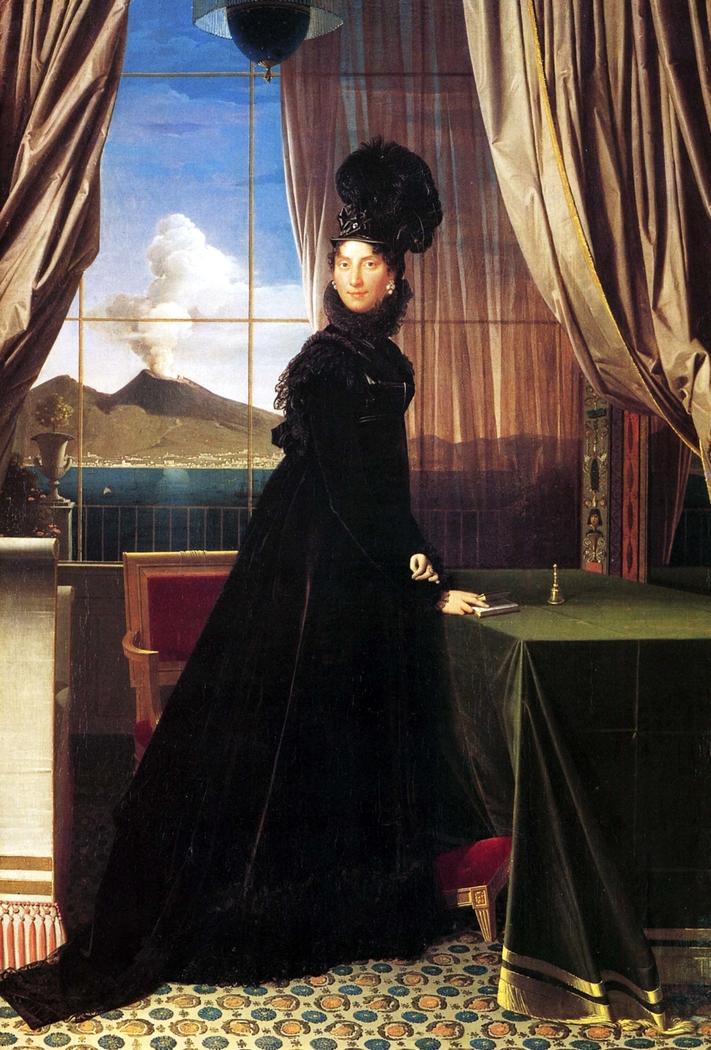 Portrait of Caroline Murat, Queen of Naples
