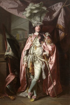Portrait of Charles Coote, 1st Earl of Bellamont (1738-1800), in Robes of the Order of the Bath