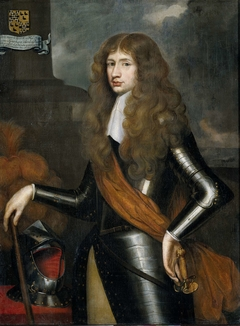Portrait of Cornelis van Aerssen, Lord of Sommelsdijk, Governor of Suriname from 1683