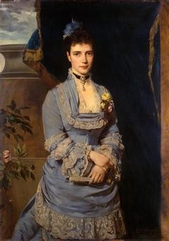 Portrait of Grand Duchess Maria Fiodorovna