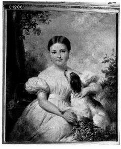 Portrait of Jacqueline Adriënne Henriëtte Hoffmann (1827-1889), wife of Otto baron van Wassenaer, Lord of Katwijk and 't Zandt