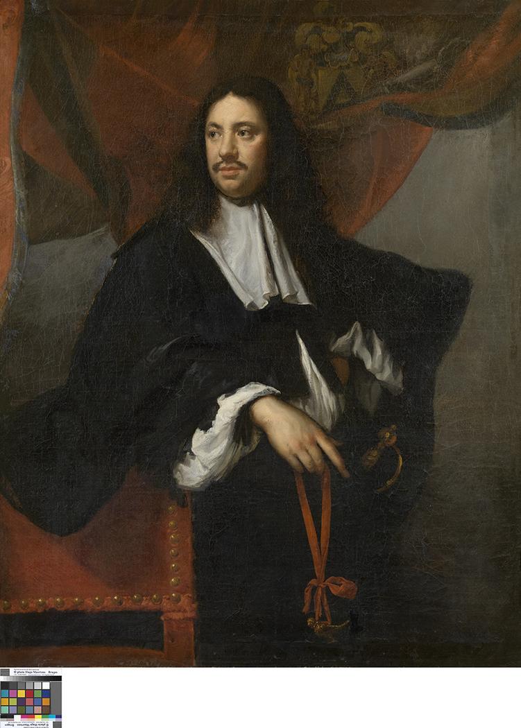 Portrait of Jan-Filips van Boonem, Dean of the Guild of St. George in Bruges