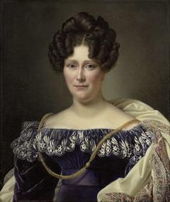 Portrait of Johanna Henriette Engelen, second Wife of Daniel Francis Schas