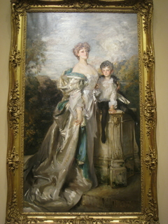 Portrait of Lady Warwick and her Son