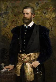 Portrait of Ludwik Wodzicki (1834–1894), Marhal of the Galician Seym