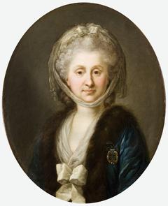 Portrait of Ludwika Zamoyska née Poniatowska