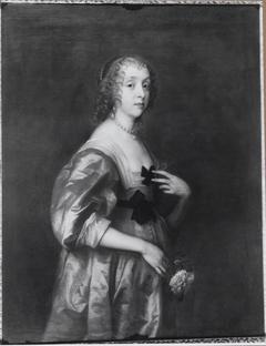 Portrait of Mary Stewart, Duchess of Richmond en Duchess of Lennox (1622–1685), voorheen Lady Mary Villiers
