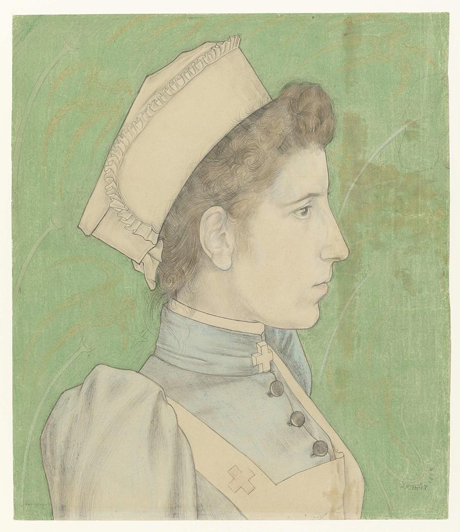 Portrait of Nurse Nelly