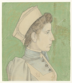 Portrait of Nurse Nelly
